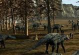 Сцена изо фильма Легенда о динозаврах / March of the Dinosaurs (2011) Поход динозавров подмостки 0
