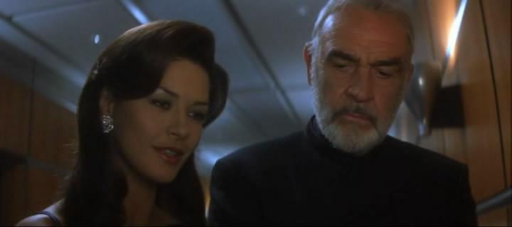 Сцена из фильма западня entrapment 1999