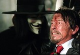 Сцена изо фильма «V» как видим Вендетта / V for Vendetta (2006) V итак вендетта
