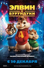 Элвин да бурундуки / Alvin and the Chipmunks (2007)