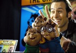 Сцена изо фильма Элвин да бурундуки / Alvin and the Chipmunks (2007) Элвин равно бурундуки