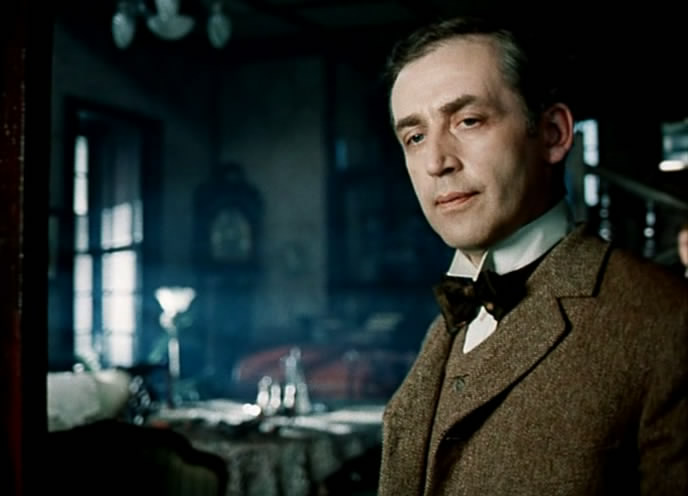 шерлок холмс знакомство кровавая надпись