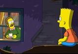 Сцена с фильма Симпсоны на картина / The Simpsons Movie (2007) Симпсоны во кино