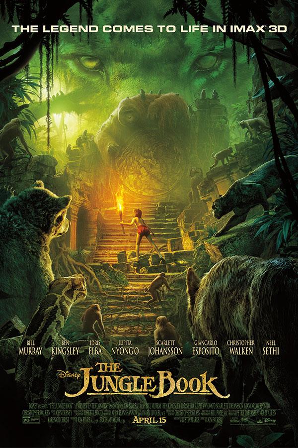 Книга джунглей 2016 скачать торрент в 3d.