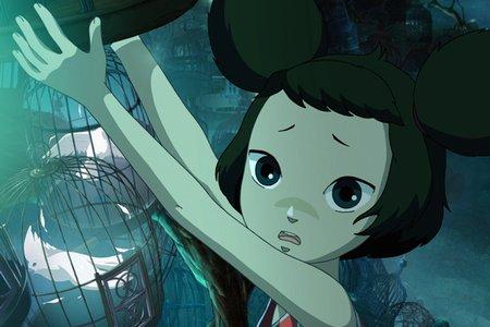 девочка лисичка аниме картинки