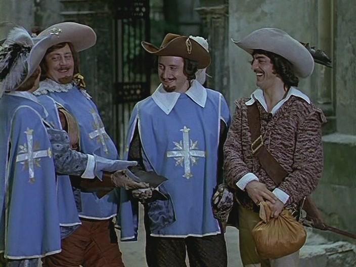 Фильм ДАртаньян и три мушкетера смотреть онлайн бесплатно