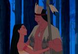 Кадр изо фильма Покахонтас