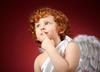 обои картинки фото Рыжий мальчик ангел 1600х900 обои картинки фото на рабочий...