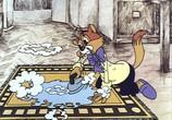 Сцена с фильма Приключения кота Леопольда (1975) Кот Леопольд