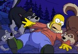 Сцена с фильма Симпсоны во картина / The Simpsons Movie (2007) Симпсоны во кино