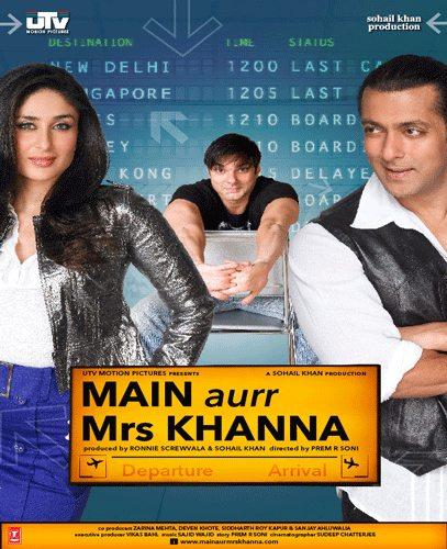 Индийское Кино Мистер И Миссис Кханна