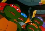Сцена изо фильма Черепашки мутанты убийца / Teenage Mutant Ninja Turtles (1987)