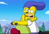 Сцена изо фильма Симпсоны во кинематография / The Simpsons Movie (2007) Симпсоны на кино