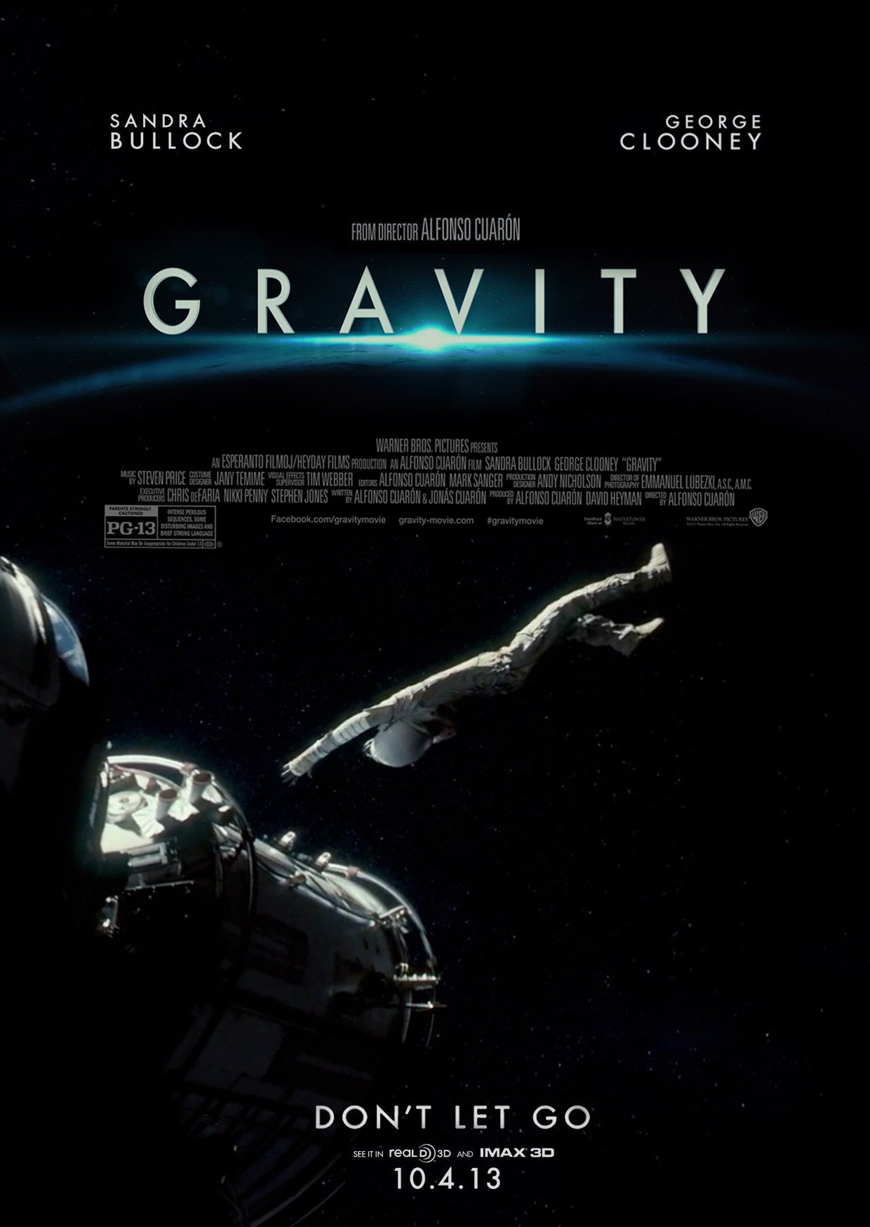 Фильм гравитация скачать