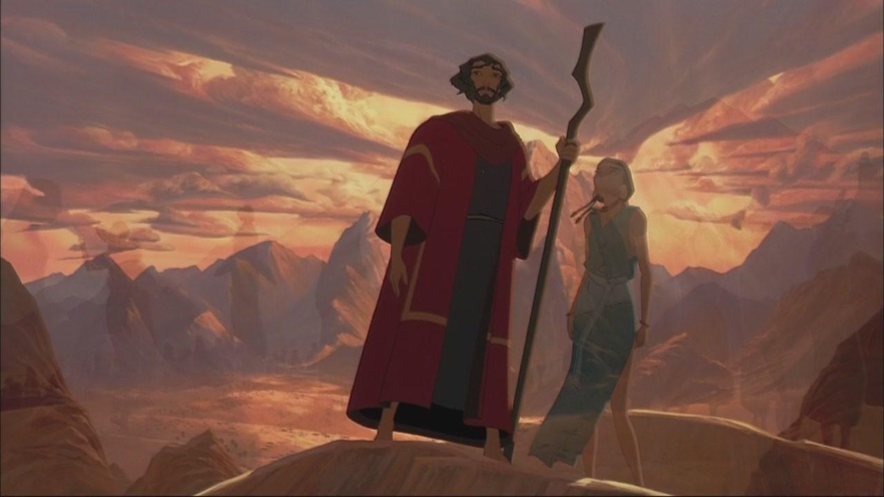Скачать мультфильм Принц Египта через торрент