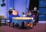 Сцена с фильма Чёрный Плащ / Darkwing Duck (1993) Чёрный Плащ сценическая площадка 0