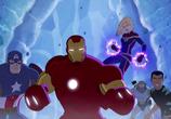 Сцена из фильма Приключения Супергероев: Морозный Бой / Marvel Super Hero Adventures: Frost Fight! (2015)