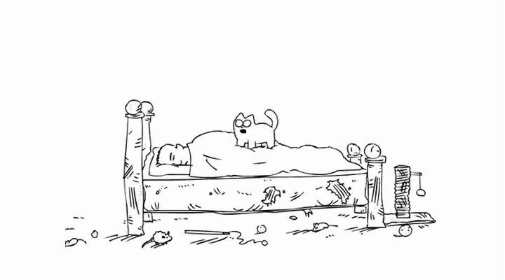 Мультфильм кот саймон скачать
